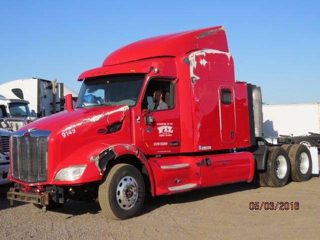 2015 Peterbilt 579, Stock No. 1006