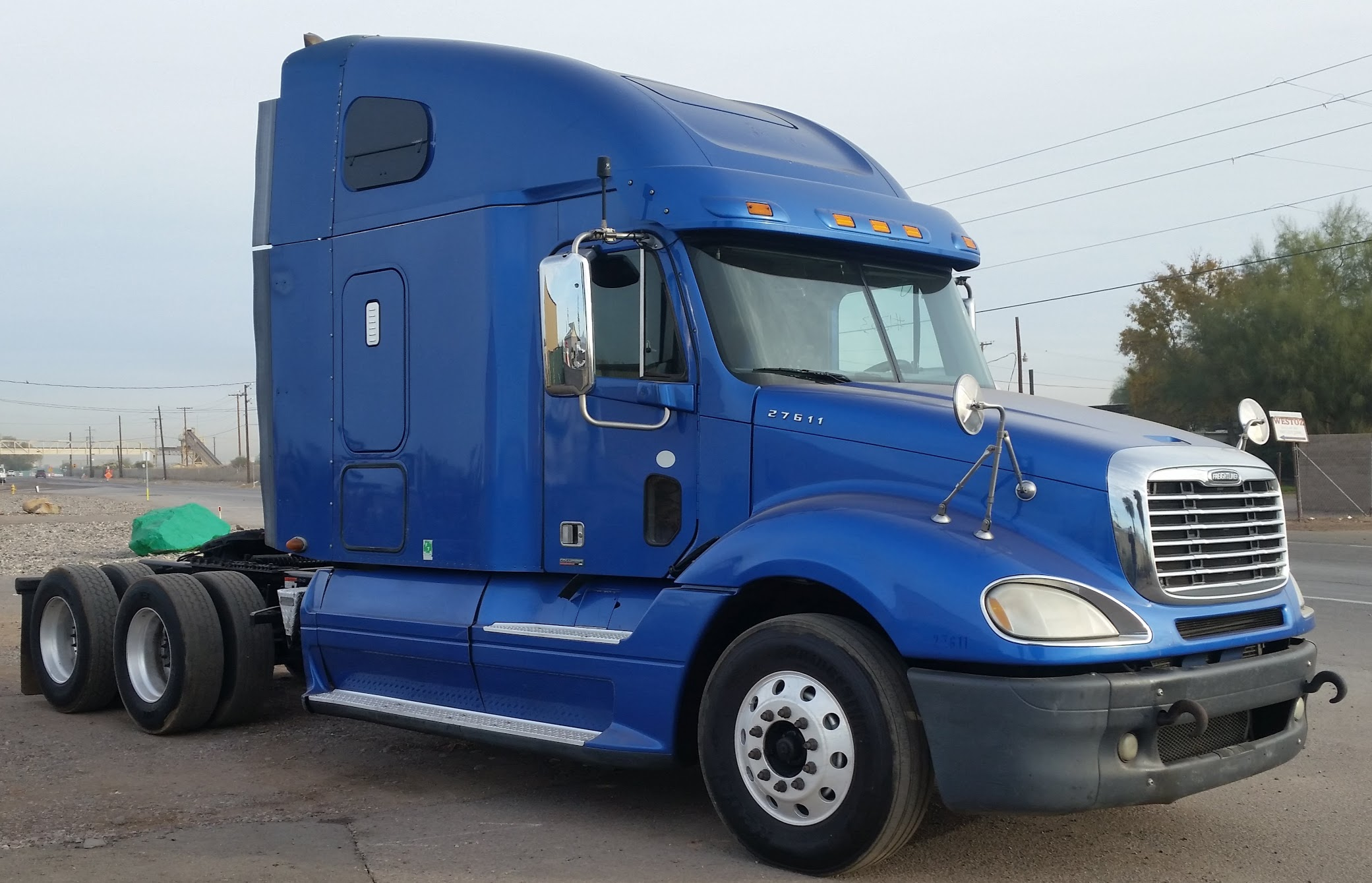 used trucks truck road vo volvo driving semi a the sale for along canada