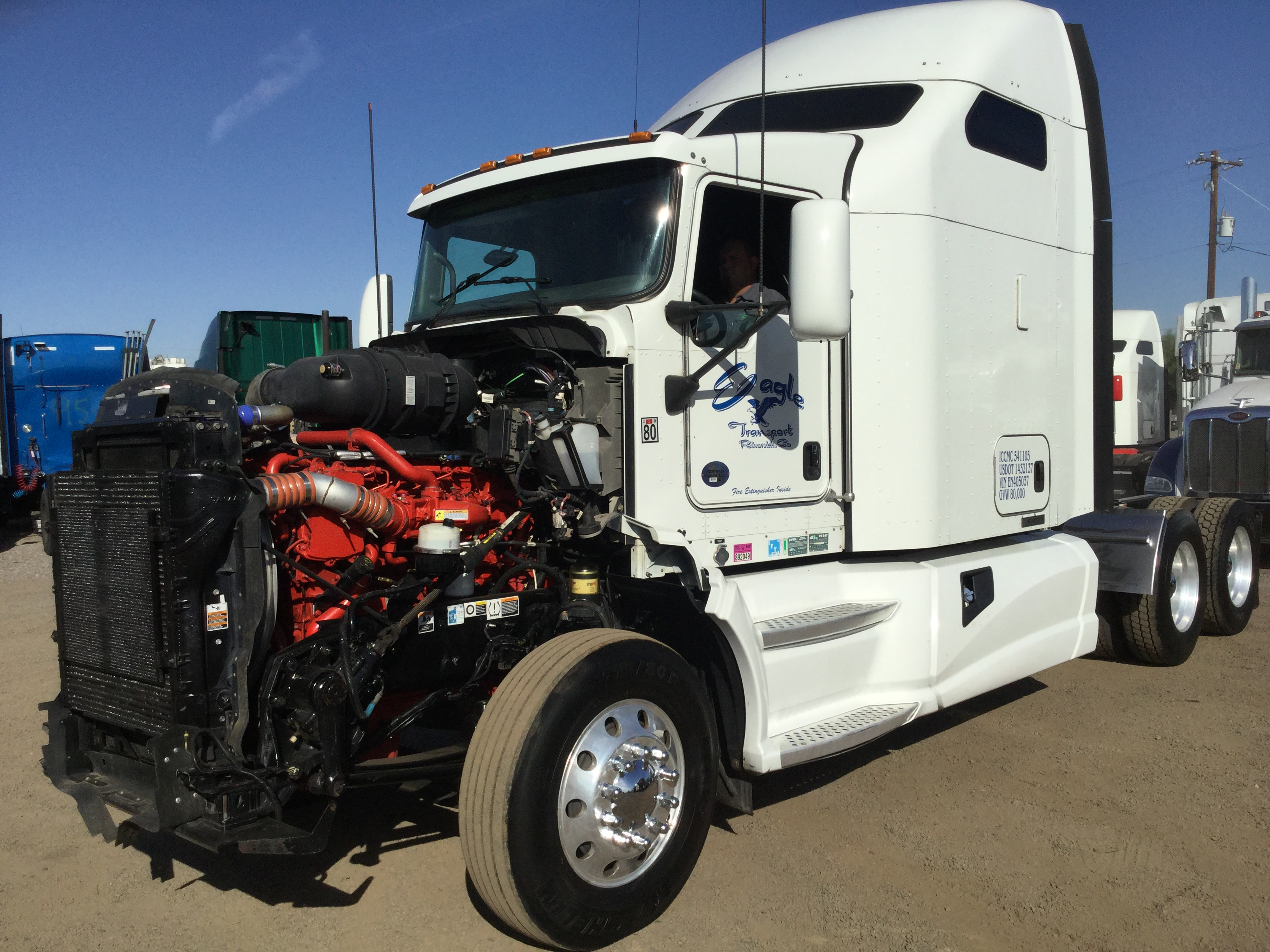 2015 Kenworth T660 for Parts Stock No. 1088