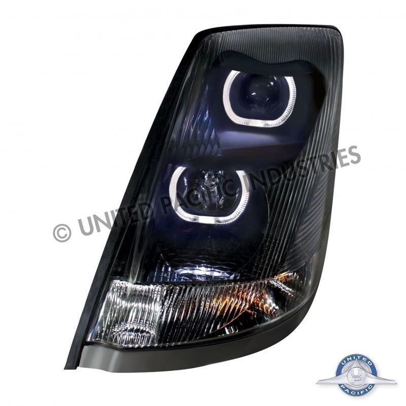 Volvo Headlight W/ LED Bar - Driver side