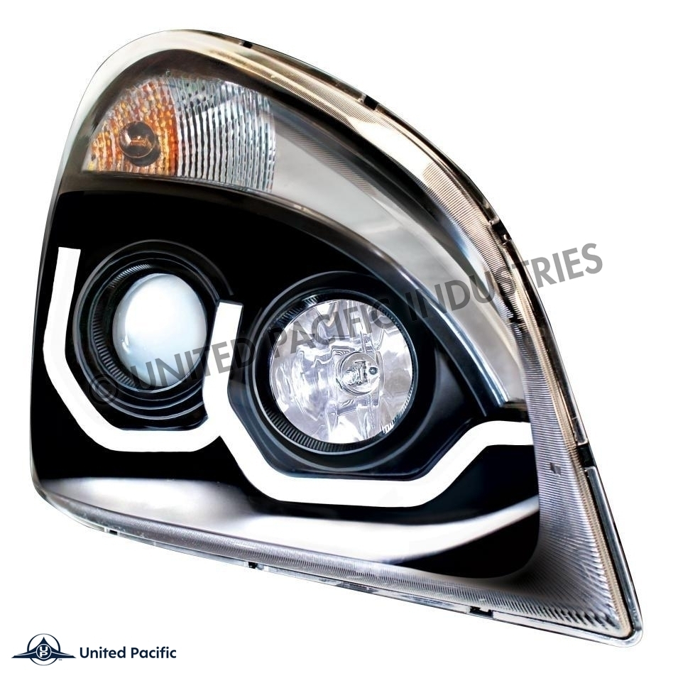Cascadia FLN headlamp (Blackout) Passenger