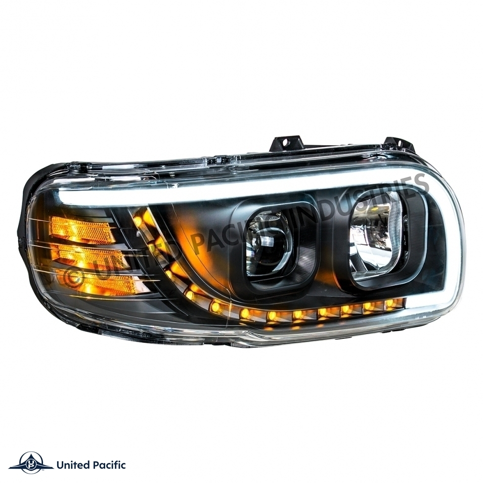 388 389 Peterbilt Headlight with LED
